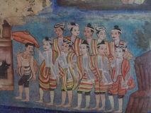 Thaise lanna Stock Foto's
