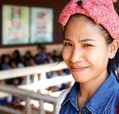 Thaise leerlingen Stock Afbeeldingen