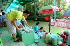 Thaise levensstijl Royalty-vrije Stock Foto's