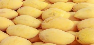 Thaise mango's, Fruit Thailand Royalty-vrije Stock Afbeeldingen