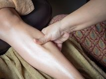 Thaise Massage stock foto