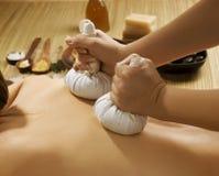 Thaise Massage royalty-vrije stock foto's