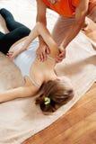 Thaise massage Royalty-vrije Stock Afbeeldingen
