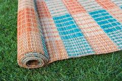 Thaise mat op het groene gras Royalty-vrije Stock Afbeelding