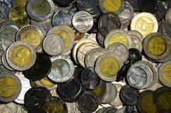 Thaise muntstukken Royalty-vrije Stock Afbeelding