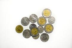 Thaise muntstukken Stock Foto's