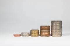 Thaise muntstukken Royalty-vrije Stock Foto