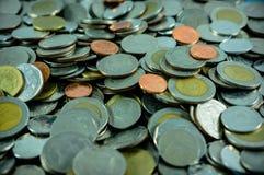 Thaise muntstukken Royalty-vrije Stock Fotografie