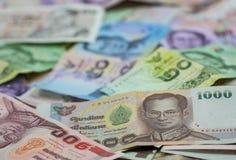 Thaise muntstukken Stock Afbeeldingen