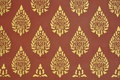 Thaise muurdecoratie Royalty-vrije Stock Afbeeldingen