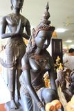 Thaise mythologie Angel Statues royalty-vrije stock afbeeldingen