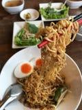 Thaise noedel Stock Foto