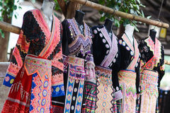 Thaise noordelijke kleding, mooie kleding royalty-vrije stock afbeelding