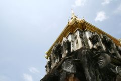 Thaise Pagode Stock Afbeelding
