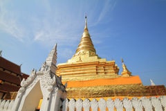 Thaise Pagode Royalty-vrije Stock Afbeelding