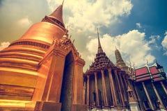 Thaise Pagode in de Koninklijke Grote Koning Palace Royalty-vrije Stock Afbeelding