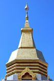 Thaise pagode, Phothisoonthorn tempel, Udornthani Stock Afbeelding