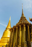 Thaise Pagode in Royal Palace in Wat Phra Kaew, Stock Foto