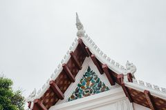 Thaise pagode in tempel Royalty-vrije Stock Foto's