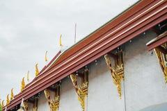 Thaise pagode in tempel Royalty-vrije Stock Afbeeldingen