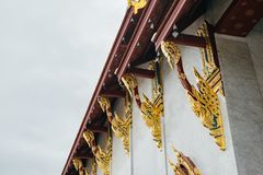 Thaise pagode in tempel Royalty-vrije Stock Fotografie