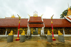 Thaise pagode in tempel Stock Fotografie
