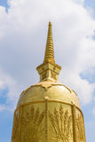 Thaise pagode in tempel Royalty-vrije Stock Afbeelding