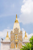 Thaise pagode in tempel Stock Foto