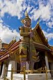 Thaise reus in Wat Phra Kaeo Bangkok Province Royalty-vrije Stock Foto's