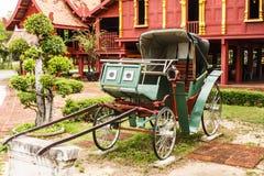 Thaise riksja in Oude stad Royalty-vrije Stock Fotografie