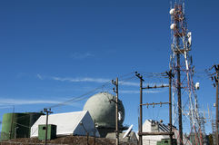 Thaise Royal Air Force-Radarpost Stock Foto