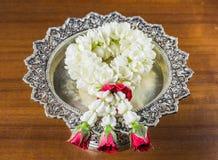 Thaise slingerbloemen stock foto's