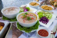 Thaise Soja Bean Dipping Sauce royalty-vrije stock foto's