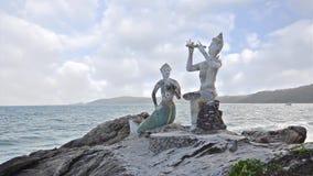 Thaise standbeelden