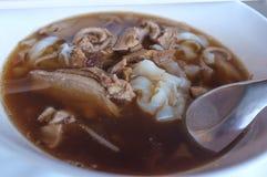Thaise Stijl Duck Noodle royalty-vrije stock foto