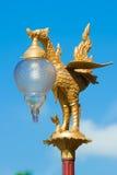 Thaise stijl lichte pijler Royalty-vrije Stock Foto