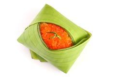 Thaise stijl zoete desserts. Royalty-vrije Stock Afbeeldingen
