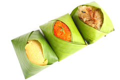 Thaise stijl zoete desserts. Stock Foto's