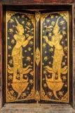 Thaise stijldeur Royalty-vrije Stock Foto's