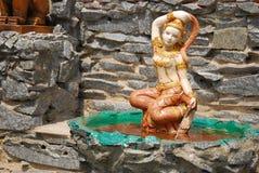 Thaise stijlkunst van engel Royalty-vrije Stock Foto's