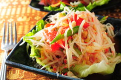Thaise stijlsalade Royalty-vrije Stock Afbeelding