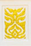 Thaise stijltextuur Royalty-vrije Stock Afbeeldingen