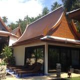 Thaise stijlvilla Royalty-vrije Stock Foto