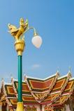 Thaise straatlantaarn Royalty-vrije Stock Foto's