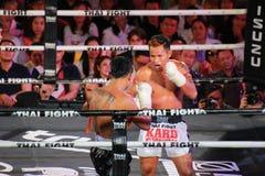 Thaise Strijd: Muay Thai Stock Afbeeldingen