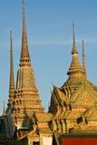Thaise stupa in Wat Poh, Bangkok Royalty-vrije Stock Afbeeldingen