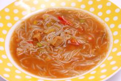 Thaise suppe Stock Foto