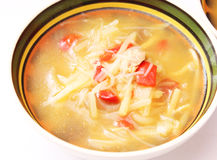 Thaise suppe Stock Afbeelding