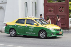 Thaise Taxi Royalty-vrije Stock Foto