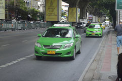 Thaise Taxi stock foto